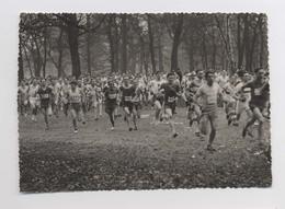 LE CROSS DE L'INTRAN Au Bois De Boulogne En 1931 - Photo Originale Signée Ph. Mourisse - Athlétisme - Course - Sports