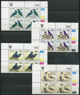 Venda Mi# 274-7 Zylinderblöcke Postfrisch/MNH Controls - Fauna Birds - Venda