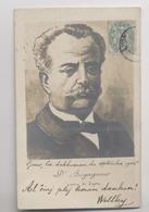 Jean-Victor Augagneur - 1904 - Maire De Lyon - Député - Médecin - Homme Politique - Photo Réhaussée Signée Henry Gins - Other