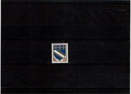 VARIETE - BLASON TROYES 3 BANDES PHOSPHORE  **Y/T N° 1353a - Curiosities: 1960-69 Mint/hinged