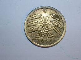 ALEMANIA 50 RENTENPFENNIG 1923 G (1239) - 50 Rentenpfennig & 50 Reichspfennig