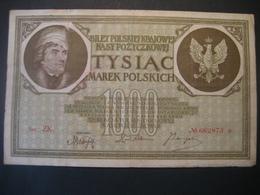 Polen- 1000 Marek Polskich III Ser. ZK. 17. Mai 1919 - Poland