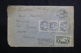 POLOGNE - Enveloppe En Recommandé De Pysznica Pour La France En 1933, Affranchissement Plaisant - L 61246 - 1919-1939 République
