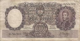 ARGENTINE 1000 PESOS ND1955-65 VG+ P 273 - Argentina