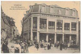 CHER VIERZON : GRANDS MAGASINS DES NOUVELLES GALERIES - Circulé MILITARIA En 1915 - Vierzon