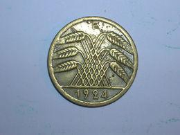 ALEMANIA 50 RENTENPFENNIG 1924 F (1242) - 50 Rentenpfennig & 50 Reichspfennig