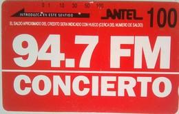 100 Units 94.7 FM Station - Uruguay