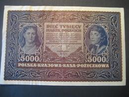 Polen- 5000 Marek Polskich II Serja ZB 1920 - Pologne