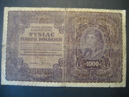 Polen- 1000 Marek Polskich II Serja AL 1919 - Pologne