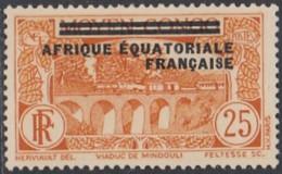 Afrique Equatoriale Française - N° 08 (YT) N° 8 (AM) Neuf *. - A.E.F. (1936-1958)