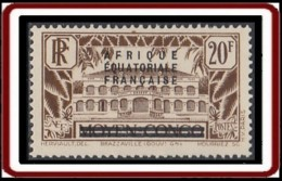 Afrique Equatoriale Française - N° 16 (YT) N° 16 (AM) Neuf *. - Neufs
