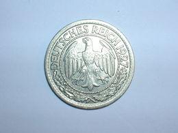 ALEMANIA 50 RENTENPFENNIG 1927 A (1245) - 50 Rentenpfennig & 50 Reichspfennig