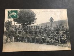 CPA 1900/1920 Arnaville Les Chasseurs à La Frontière - France