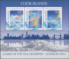 Cook Islands 2012 SG1659 Olympics MS MNH - Cook Islands