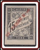 Saint-Pierre Et Miquelon 1859-1909 - Timbre-taxe N° 03 (YT) N° 3 (AM) Neuf *. - Timbres-taxe