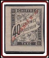 Saint-Pierre Et Miquelon 1859-1909 - Timbre-taxe N° 06 (YT) N° 6 (AM) Neuf *. - Timbres-taxe