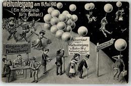 53027889 - Weltuntergang 1910 - Humor