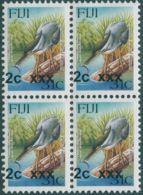 Fiji 2006 SGF1369 2c On 31c Mangrove Heron Block MNH - Fiji (1970-...)