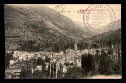 CACHET DE L'HOPITAL TEMPORAIRE DE TARBES, CASERNE REFFYE - SERVICE DE SANTE - 18E CORPS - VOYAGE LE 10.2.1915 - Marcophilie (Lettres)