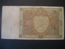 Polen- 50 Zloty 1929 Ser. DY - Poland