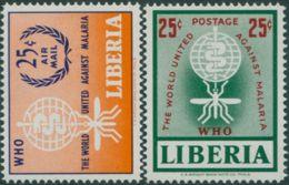 Liberia 1962 SG859-860 Malaria Eradication Set MNH - Liberia