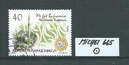 MAZEDONIEN MICHEL 665 Gestempelt Siehe Scan - Mazedonien