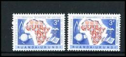 Ruanda-Urundi 217/18 - MH - 1948-61: Ungebraucht