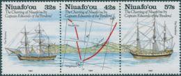 Niuafo'ou 1991 SG152a Charting Ships Strip Of 3 MNH - Tonga (1970-...)