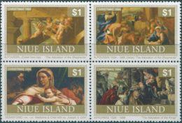 Niue 1994 SG787a Christmas Block MNH - Niue