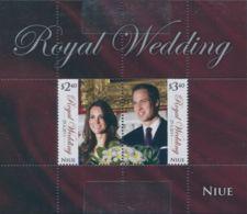 Niue 2011 SG1071 Royal Wedding MS MNH - Niue