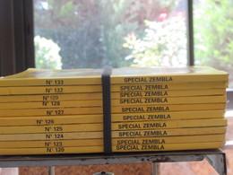 Lot De 10 BD  Zembla N°120 A 133 Bon Etat - Zembla