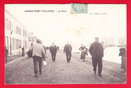 F-59-Grand Fort Philippe-01P83  Le Port, Belle Animation, Cpa - France
