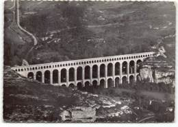 Roquefavour. L'Aqueduc.   . CPSM GF.  Edit Cellard.    Vue Aerienne - Roquefavour