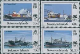 Solomon Islands 1988 SG626-629 Sydpex Stamp Exhibition Set FU - Isole Salomone (1978-...)
