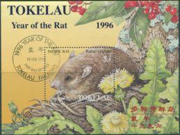 Tokelau 1996 SG239 Year Of The Rat MS FU - Tokelau