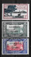 1939/40 - 77 à 79*MH - Timbres De N.C. De 1939 Surchargés - Wallis Und Futuna