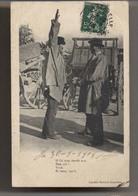 Deux Marchands -  Marché - 1908 - Foire - Librairie Barraud - Angoulème - Patois - Animée - Fairs