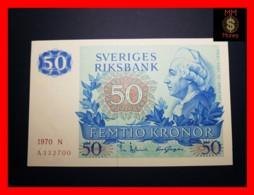 SWEDEN 50 Kronor 1970 P. 53 A  AU - Suecia
