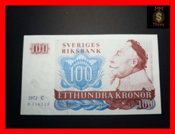 SWEDEN 100 Kronor 1972 P. 54 B  UNC- - Svezia
