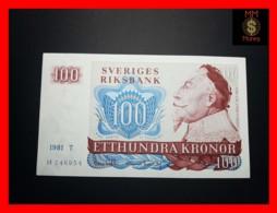 SWEDEN 100 Kronor 1981 P. 54 C  XF - Suecia
