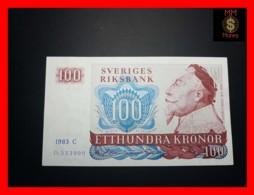 SWEDEN 100 Kronor 1983 P. 54 C  XF - Svezia