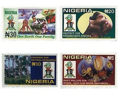 Ref. 94735 * MNH * - NIGERIA. 1999. 10 ANNIVERSARY OF THE FEPA . 10 ANIVERSARIO DE LA FEPA - Nigeria (1961-...)