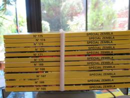 Lot De 11  BD Special   Zembla N°175 A 165 Bon Etat - Zembla