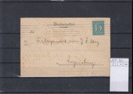 Reich Michel Kat.Nr. 160 EF Bücherzettel - Deutschland