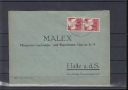 Reich Michel Kat.Nr.  633 MeF Bahnpost Leipzig Hamburg - Lettres & Documents