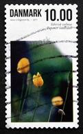 Denmark 2011 FLOWERS  Minr.1657 A    (O)  ( Lot  L 3121 ) - Gebraucht