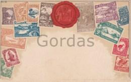 New Zealand - Philatelic Postcard - Litho - Nouvelle-Zélande