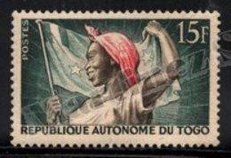 Togo 1957 Yvert 260, Woman With Flag - MNH - Togo (1960-...)