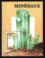 Togo 1999 Yvert BF 328D, Geology. Minerals, Beryl - Miniature Sheet - MNH - Togo (1960-...)