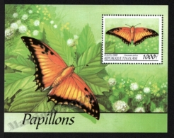 Togo 1999 Yvert BF 328F, Fauna. Insects, Butterfly - Miniature Sheet - MNH - Togo (1960-...)